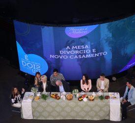 """Mesa """"Divórcio e novo casamento"""" com Ana Paula e Gustavo Valadão Bessa e convidados"""